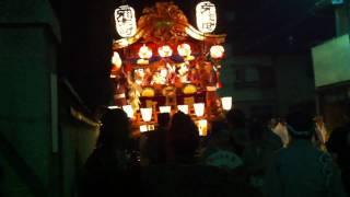弥生町 最終日終了前 (22:50頃)