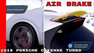 2018 Porsche Cayenne Turbo Air Brake & Aerodynamics