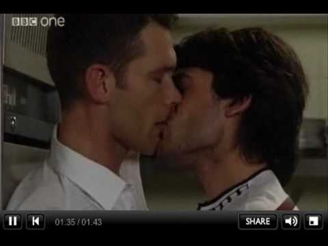 Christian & Syed KISS - UNSEEN ONLINE VERSION - EastEnders