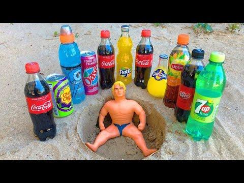 7up, Pepsi, Coca