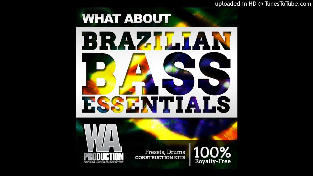Brazilian bass sample pack (free download) wa production youtube.