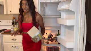 Extreme refrigerator clean with me | motivational clean with me  |  vlogtober 2019 | sahm
