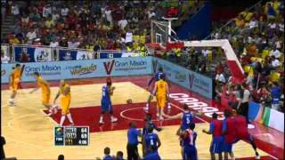 F.Y.R. of Macedonia Vs. Dominican Republic / 2012 FIBA Olympic Qualifying Tournament: Quarter-Final