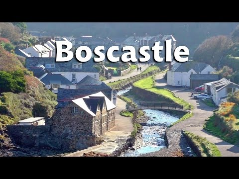 Boscastle in Cornwall on A Perfect Day in Autumn