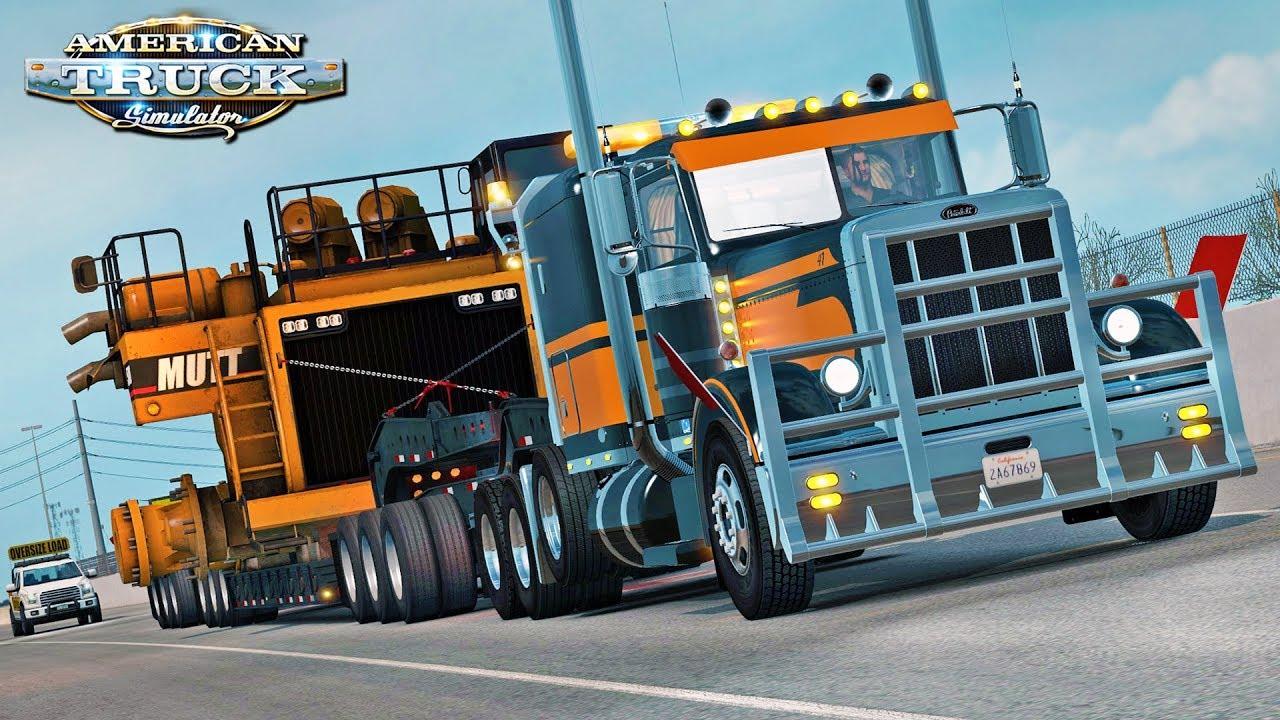 american truck simulator special transport dlc youtube. Black Bedroom Furniture Sets. Home Design Ideas