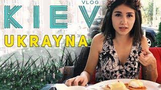 Ukrayna'nın MUHTEŞEM Şehri Kiev ! - KIEV Gezi Vlog - #1