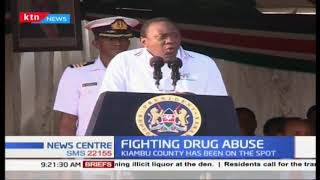President Uhuru presided over graduation of 77 former drug addicts who underwent rehabilitation
