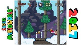Down Monty Mountain • Hack of Super Mario World