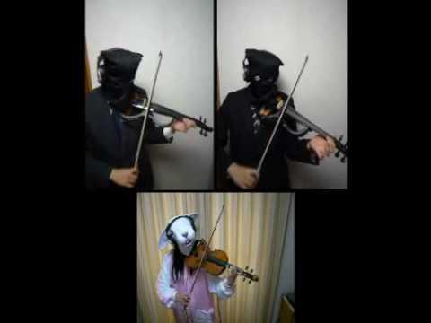 Canon Rock Violin - バイオリン×3で - sm5716156