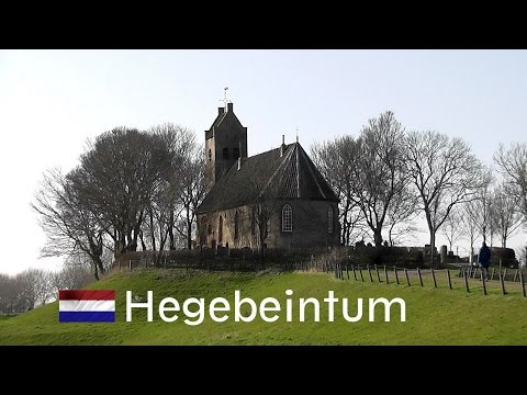 HOLLAND: Church of Hegebeintum, Friesland [HD]