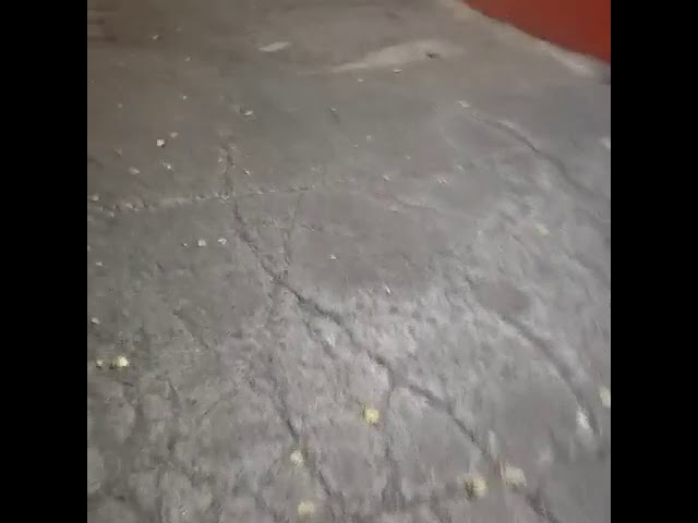 Banqueta destrozada Cuauhtémoc póngase las pilas