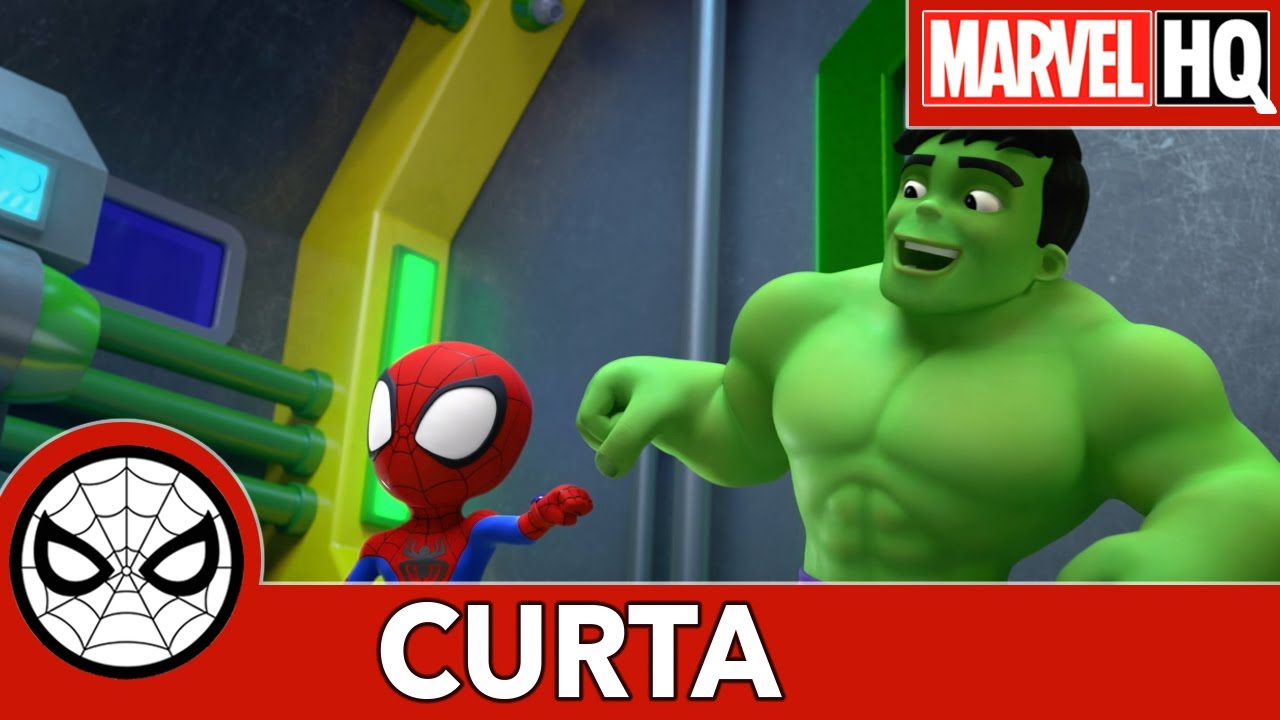 Spidey e Seus Amigos Espetaculares: Uma forcinha do Hulk