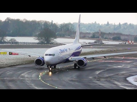 Wintry Morning Plane Spotting at London Luton Airport, LTN | 23-01-19