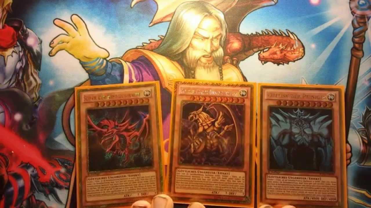 Yugioh Götterkarten Deck