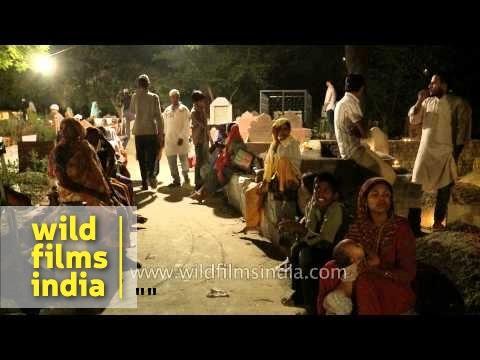 Muslims celebrate the night of Shab-e-barat - Delhi