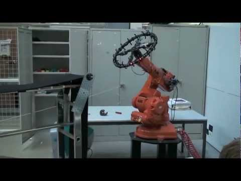 3D Relative Positioning Sensor Calibration using ABB robot