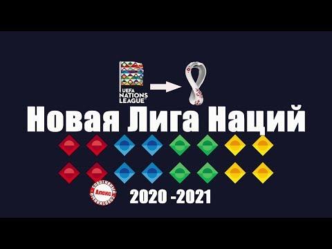 Состав новой Лиги Наций УЕФА. Что изменилось?