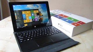 Большой, недорогой Windows 10 Планшет IRULU Walknbook W1004 / Арстайл /