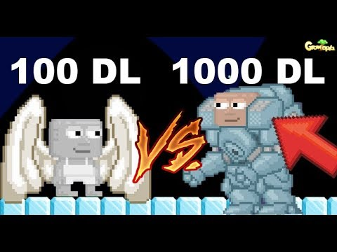 100DL LEGENDARY vs 1000DL LEGENDARY!! | GrowTopia