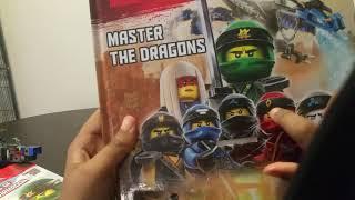 New ninjago master the Dragons activity book with zane!