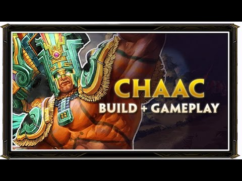 SMITE BRASIL - CHAAC BUILD 2.0 + GAMEPLAY