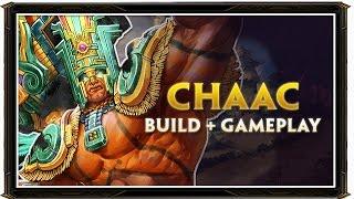 SMITE BRASIL - CHAAC BUILD 2.0 + GAMEPLAY
