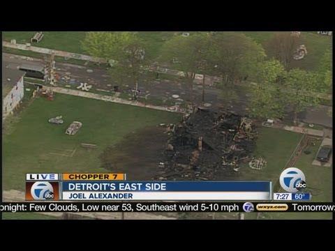 Heidelberg Project House Burns, Arson Suspected In Fire Of Detroit Art Installation Of Tyree Guyton (UPDATE)