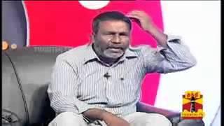"""Gopi  Debate On """"Water Scarcity At Makkal Munnal"""