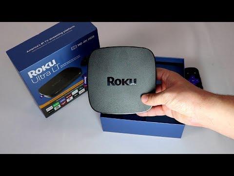 The Roku Ultra LT vs 2019 Roku Ultra - User Speed Test & Unboxing