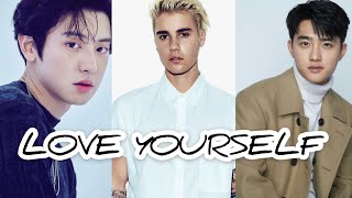 Justin Bieber - love yourself (feat. ChanYeol and Kyungsoo)