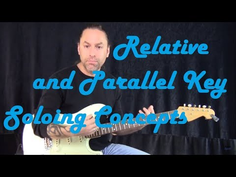 Relative and Parallel Key Soloing Concepts | Modern Blues Mastery | Guitar Zoom
