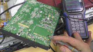 ремонт lg 32ld345 не ловит каналы, простой ремонт тюнера TDTJ-S001D