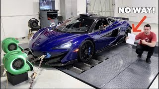 My Mclaren 600lt Made How Much Horsepower On The Dyno?!