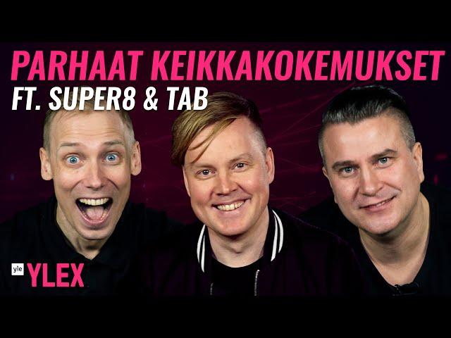 SUPER8 & TAB - MITÄ LÖYTYY KEIKKALAUKUSTA?