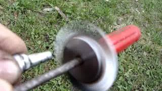 RC jet engine turbine wheel sound