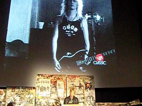 Duff McKagan – Keynote Address – for CBGB Fest