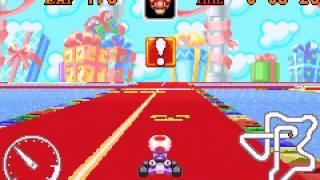 Mario Kart - Super Circuit - Ribbon Road shortcut - User video