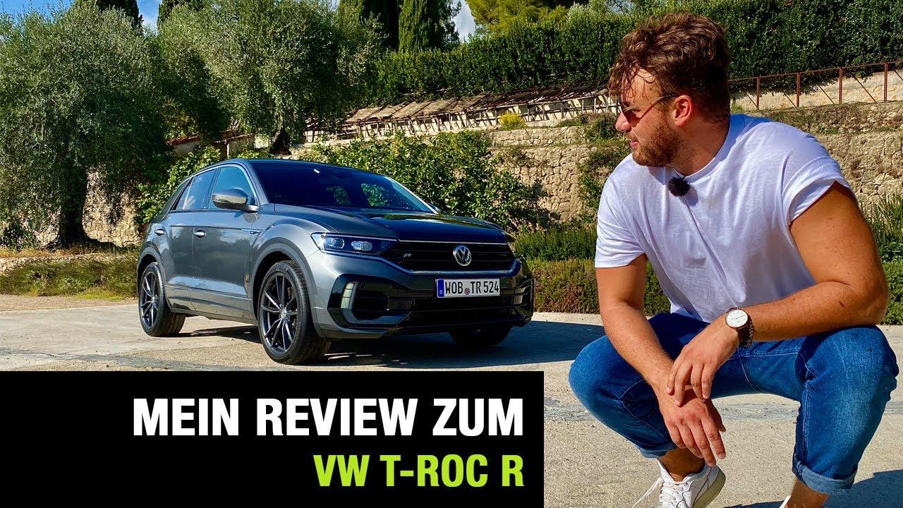 2255 VW Der neue T-Roc R 300 PS 2019 Modell 2020 Prospekt Brochure Turbo