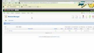 Joomla! Tutorial 3: Creating Modules