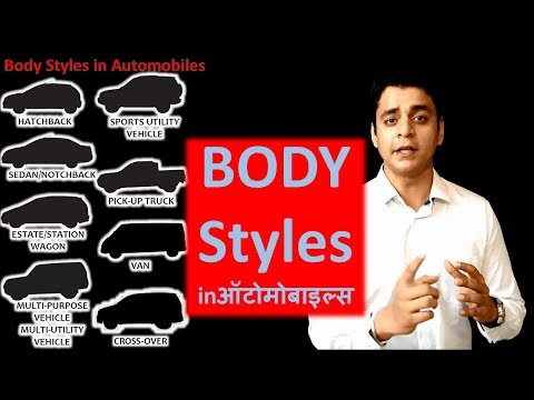 "Car body shapes""बॉडी शेप"": Automobile training in Hindi: Twizards Automobile"