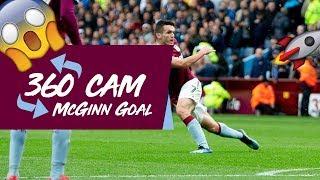 360 Goal Cam: McGinn wonder goal!
