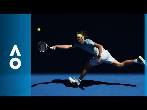 Thomas Fabbiano v Alexander Zverev match highlights (1R) | Australian Open 2018