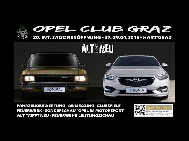 Opel Team Croatia - Opel Club Graz 20. Int. Sasioneröffnugstreffen