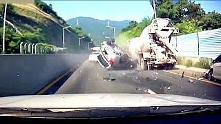 #82 【衝撃クラッシュ!】  ドラレコが見た事故の瞬間映像集