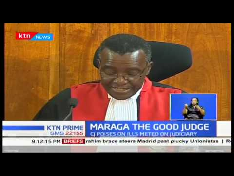Is CJ David Maraga on a mission to be in government\'s good books?