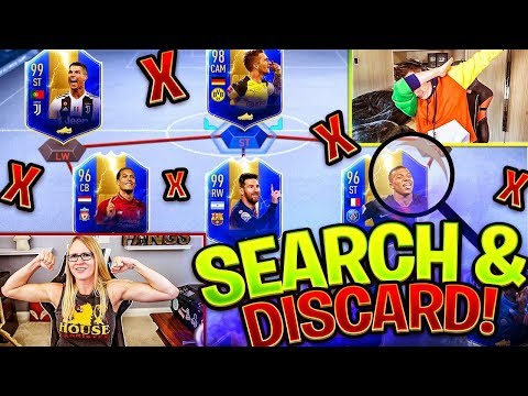 FIFA 19 SEARCH AND DISCARD VS MINIMINTER!!