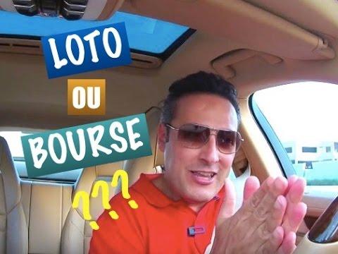 Devenir millionaire grâce au Loto ou à la bourse ?