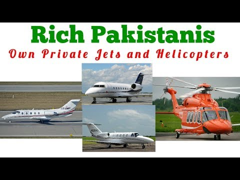 private jets owners in pakistan