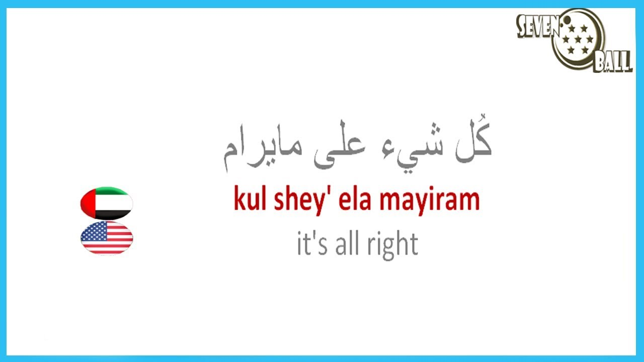 04 Basic Phrases In Arabic Greetings In Arabic Youtube