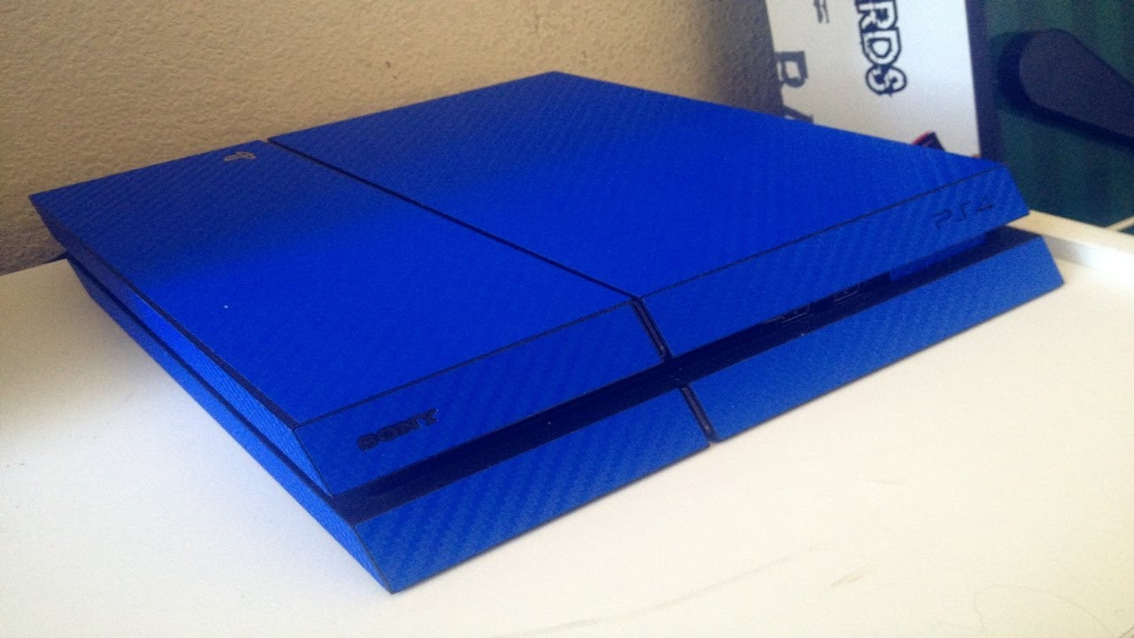 MY BLUE PLAYSTATION 4 (PS4) - MUST WATCH! - YouTube